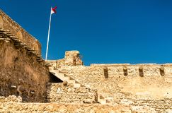 Arad Fort on Muharraq Island in Bahrain. The Middle East Stock Photos