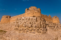 Arad Fort/Qal'at Arad. Arad Fort is a fortified castle built in the style of Islamic Forts at the end of 15th and early 16th centuries. This fort was used as a Stock Images