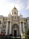 Arad-Katholischkathedrale Lizenzfreies Stockfoto