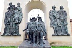 Arad reconciliation statue Stock Photo
