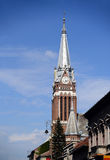 Arad red church Royalty Free Stock Photography