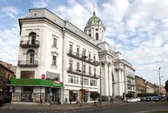 Arad downtown Royalty Free Stock Images