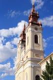 Arad, Romania. Baroque landmark in Arad, Romania. Cathedral of the Birth of Saint John the Baptist Royalty Free Stock Photo