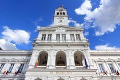 Arad, Romania. City Hall of Arad, Romania. Renaissance revival architecture Stock Photos
