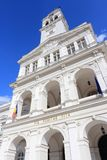 Arad, Romania. City Hall, local administrative building. Renaissance revival architecture Royalty Free Stock Photography