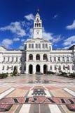 Arad, Romania. City Hall of Arad, Romania. Renaissance revival architecture Royalty Free Stock Image
