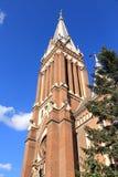 Arad, Romania. Evangelical Lutheran Church of Romania. Landmark in Arad city Royalty Free Stock Images