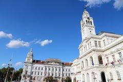 Arad, Romania. Arad, town in Crisana region of Romania. The City Hall Royalty Free Stock Photo