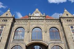Arad train station. Arad, town in Crisana region of Romania. Old train station Royalty Free Stock Photos