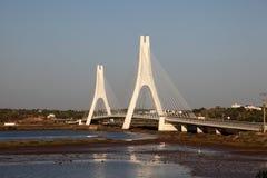 Arade River Bridge, Portugal. Arade River Bridge at Portimao, Algarve Portugal Stock Photography