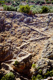 aradena峡谷 库存照片