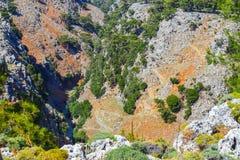 Aradena George. On Crete, Greece Royalty Free Stock Photo