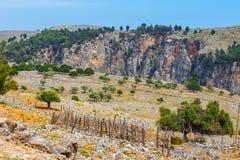 Aradena Gorge, Crete Island. Greece Stock Images