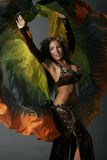 Aradia030908. Belly dancer Aradia  working in the las vegas area show girls Stock Images