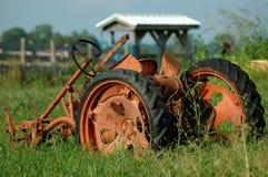 Arado da exploração agrícola do vintage Imagens de Stock Royalty Free