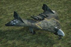 Arado E555 bomber plane german Royalty Free Stock Photo