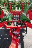 Arado, maquinaria de cultivo Fotografía de archivo