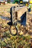 Arado velho no leilão da exploração agrícola Fotografia de Stock Royalty Free