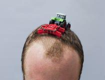 Aradura do cabelo Imagens de Stock Royalty Free