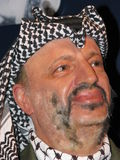 arafat statuy wosk Yasser zdjęcia royalty free