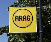 Arag firma dentro Rotterdam Immagine Stock Libera da Diritti