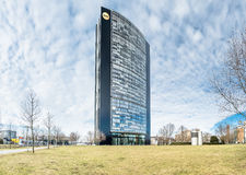 The Arag headquarter. In Duesseldorf, Germany Royalty Free Stock Photography