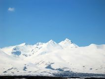 Aragats mountain Stock Images
