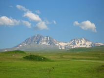 Aragats mountain Stock Image