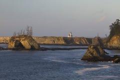 arago przylądka latarnia morska zdjęcia royalty free