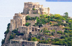 Aragon castle of Ischia Stock Photography