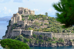 Aragon castle of Ischia Royalty Free Stock Photography