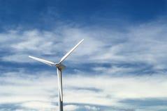 Aragon (Spain): wind turbine Royalty Free Stock Photos