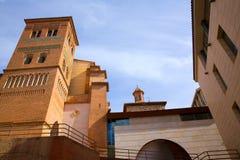 Aragon Teruel Los Amantes mausoleum i San Pedro Mudejar arkivfoton