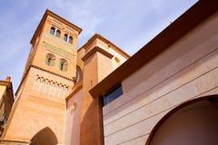 Aragon Teruel Los Amantes mausoleum i San Pedro Mudejar royaltyfria foton