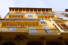 Aragon Teruel Modernist buildings at Calle Nueva Royalty Free Stock Image
