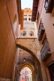 Aragon Teruel Mudejar Cathedral Santa María Mediavilla UNESCO. Heritage in Spain Stock Photos
