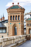 Aragon Teruel Mudejar city buildings near Escalinata. In Spain Royalty Free Stock Photography