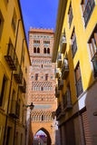 Aragon Teruel Torre de San Martin Mudejar UNESCO Royalty Free Stock Photos