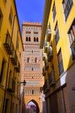 Aragon Teruel Torre de San Martin Mudejar UNESCO. Heritage in Spain Royalty Free Stock Photos