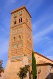 Aragon Teruel Torre de San Martin Mudejar UNESCO. Heritage in Spain Stock Photography