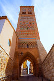 Aragon Teruel Torre de San Martin Mudejar UNESCO Royalty Free Stock Photo