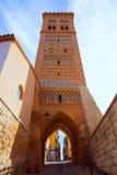 Aragon Teruel Torre de San Martin Mudejar UNESCO. Heritage in Spain Royalty Free Stock Photo