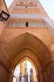 Aragon Teruel Torre de San Martin Mudejar UNESCO. Heritage in Spain Stock Image