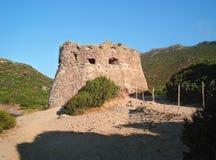 Aragon tower Porto Ferro Royalty Free Stock Image