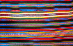 Aragon typical blanket with stripes arab heritage. Aragon typical blanket arab heritage Royalty Free Stock Image