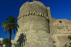 aragonese城堡 免版税库存照片