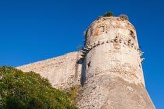 Aragonese-Angevine Castle Gaeta, Ιταλία Στοκ εικόνες με δικαίωμα ελεύθερης χρήσης