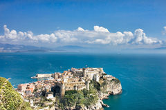 Aragonese Castle. In Gaeta, Italy Royalty Free Stock Photo
