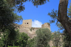 Aragonese castle, Italy. Aragonese castle in Italy, Europe Royalty Free Stock Photos