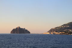 Aragonese castle, Italy. Aragonese castle in Ischia in Italy Royalty Free Stock Photo